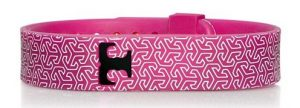 Tory Burch for Fitbit Silicone Printed Bracelet [fuschia multi)