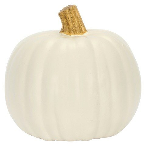Carveable 9″ Cream Pumpkin