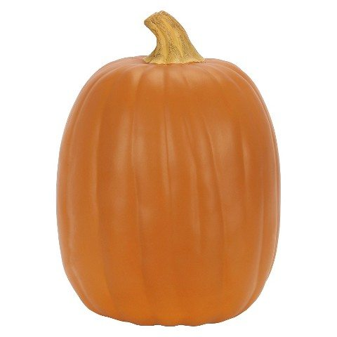 Carveable 13″ Orange Pumpkin