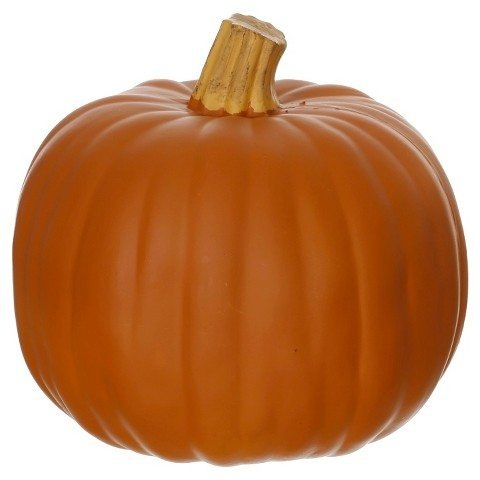 Carveable 9″ Orange Pumpkin