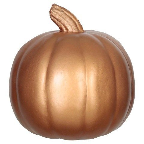 Carveable Metallic 5″ Pumpkin