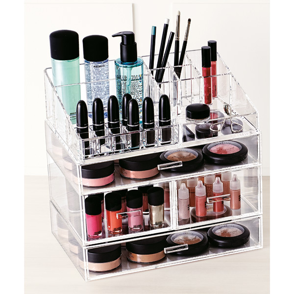 Build Your Own Cosmetic Organizer