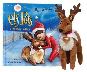 Elf reindeer pet