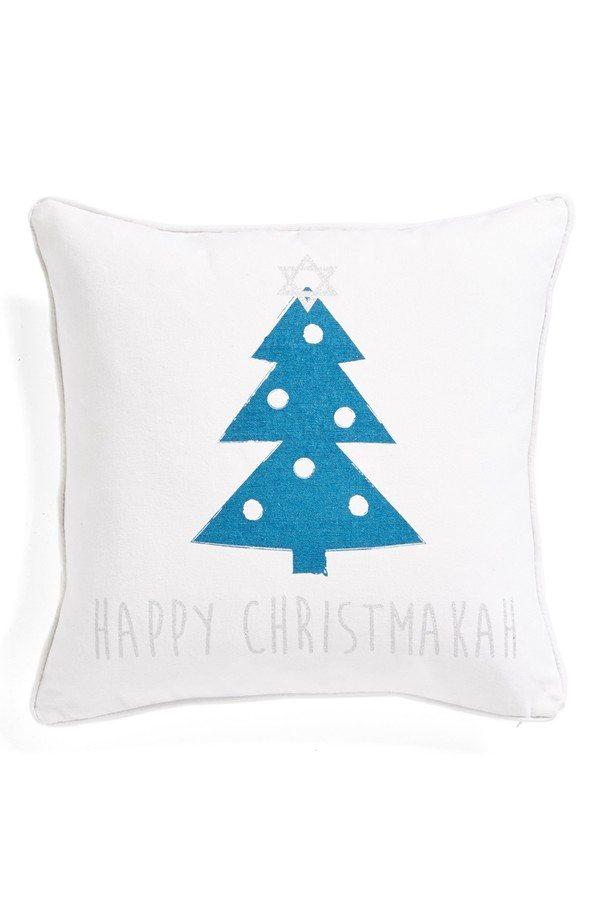 6. Happy Christmakah Pillow