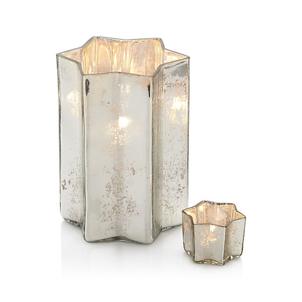 4. Glass Candle Holders