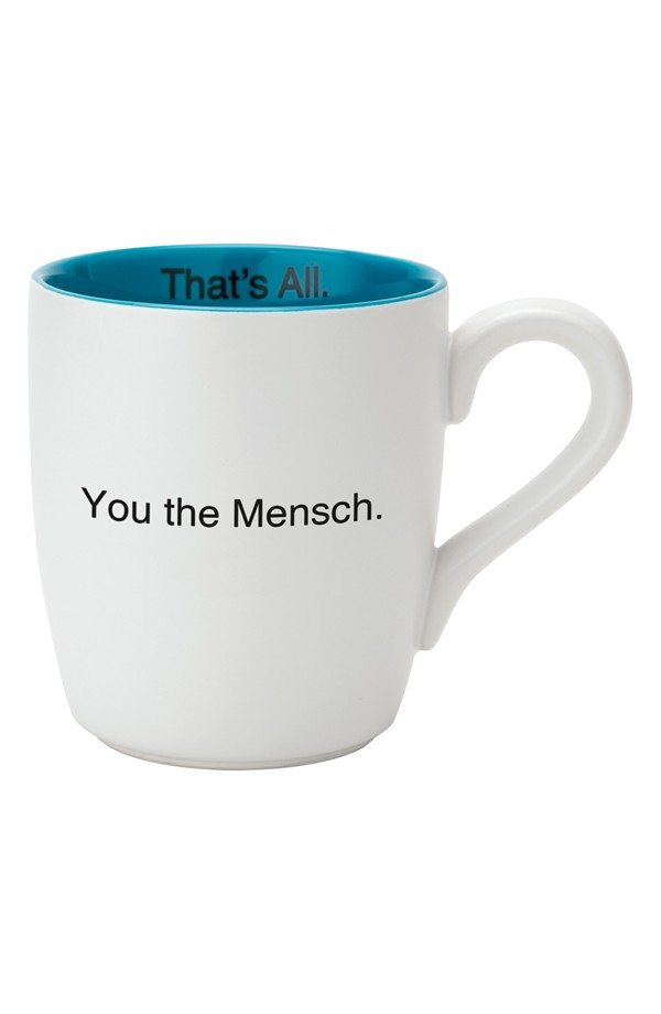 3. You the Mensch Mug
