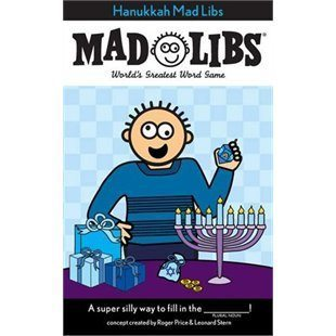6. Hanukkah Mad Libs