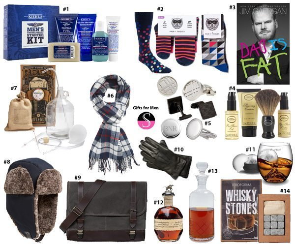 Present Ideas For Men: Gift Guide 2015: Men