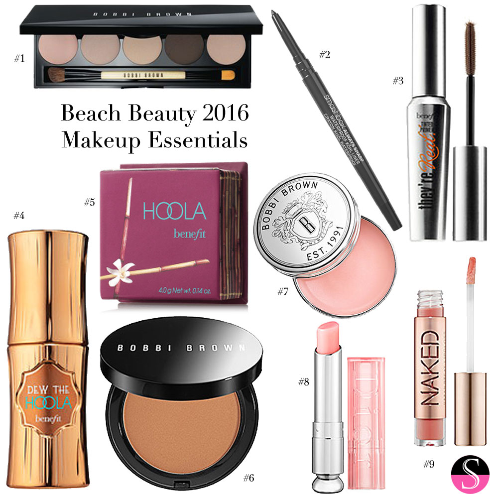Beach Beauty 2016 Makeup Essentials Styled To Sparkle