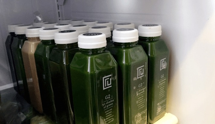 Juice Set In Fridge