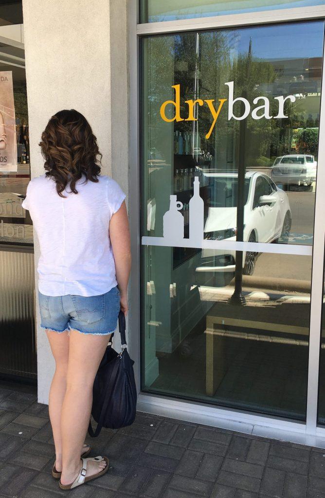 Carlee at Drybar