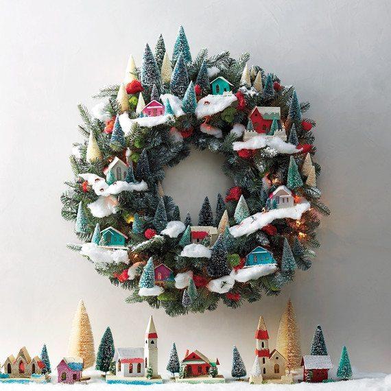 it-takes-a-village-wreath