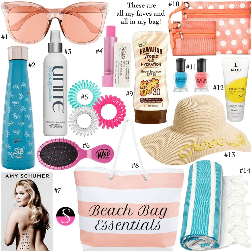 Here S What To Pack For A Day On The Lake Beach Or By Pool