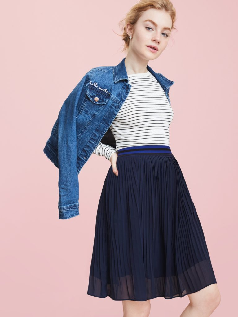 AND | A New Day | Pleated Skirt | Outfit Idea | Target Style