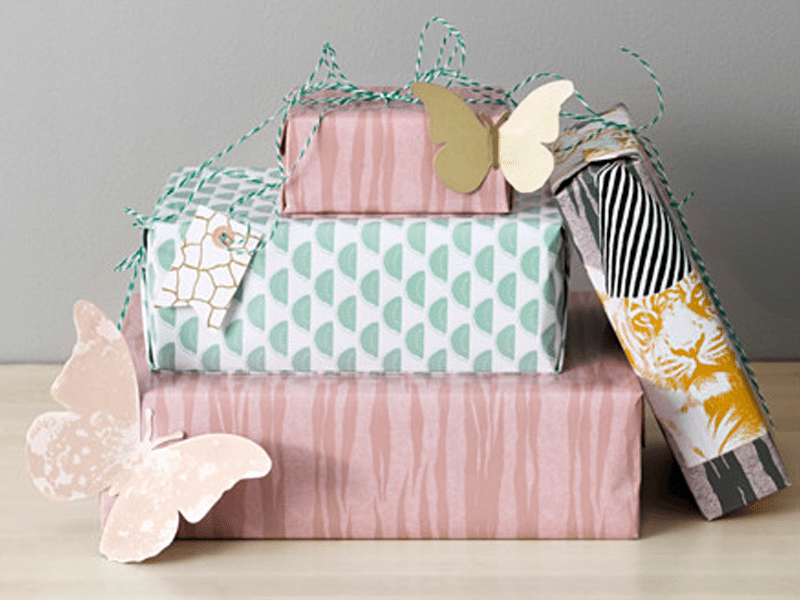 Gift Wrap | Gift Wrapping Inspiration