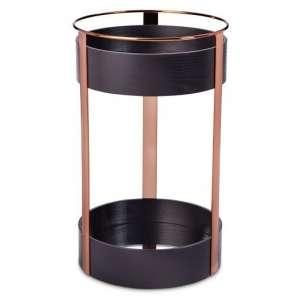 Modern by Dwell Magazine Black Copper Bar Trolley