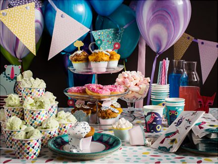 IKEA SPRUDLA Party Collection Table Setting