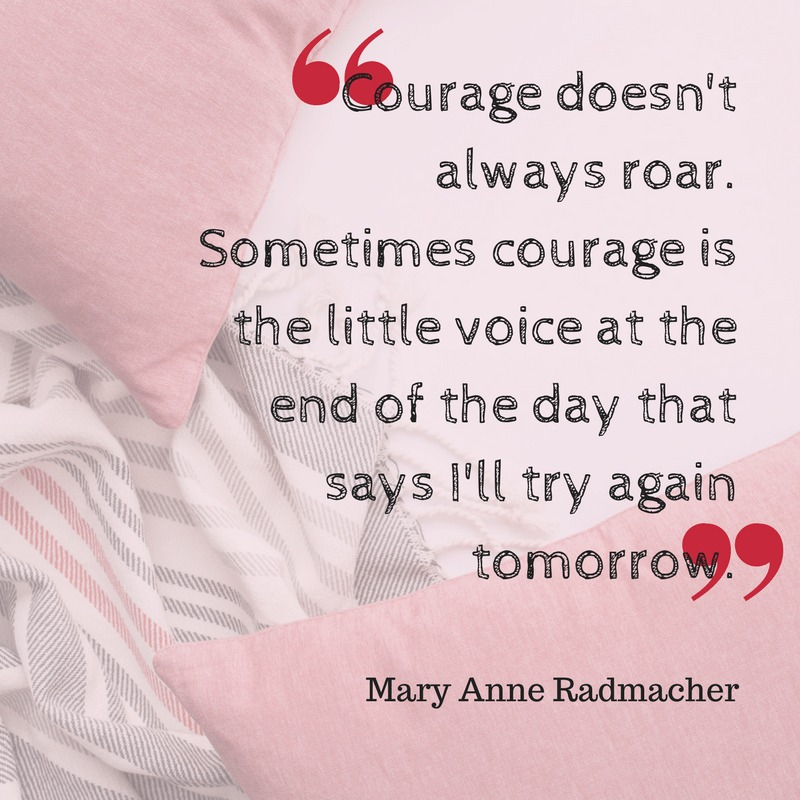 Breast Cancer Courage Quote