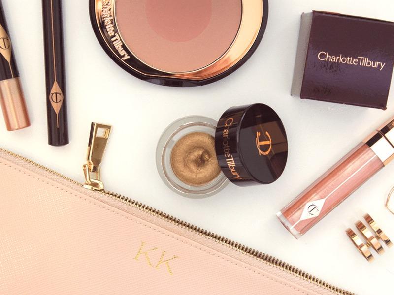 Charlotte Tilbury Cosmetics | Makeup | Makeup Flat Lay