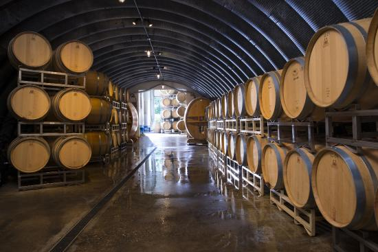 Oliver Winery Barrel Room
