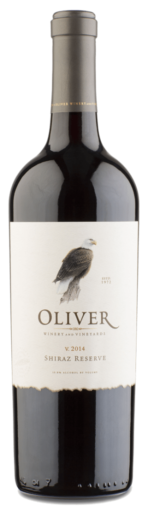 Oliver Winery Shiraz Reserve