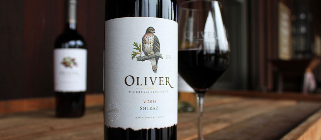 Oliver Winery Shiraz