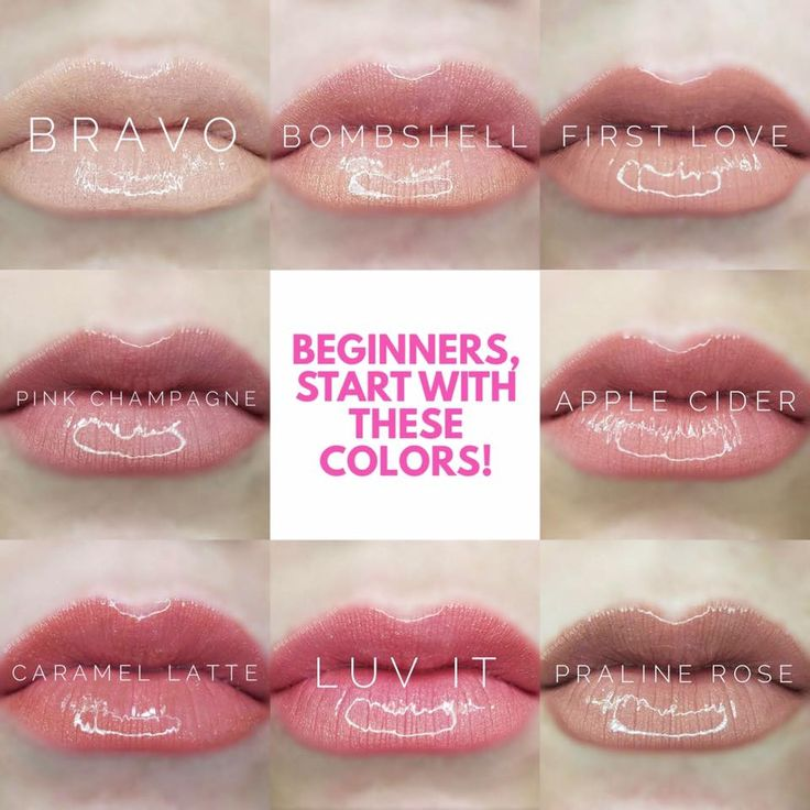 Lipsense Beginner Colors Styled To Sparkle