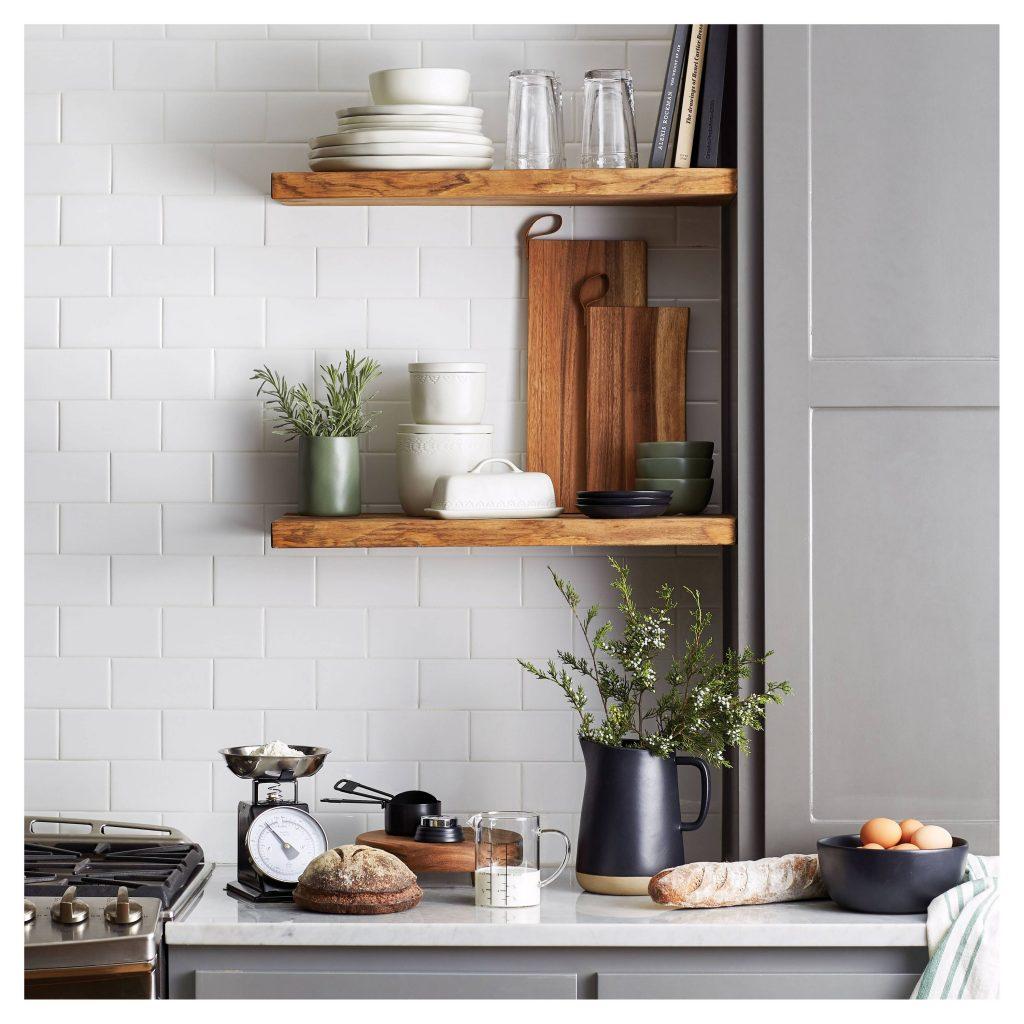 Hearth & Hand Kitchen Shelfie Vignette