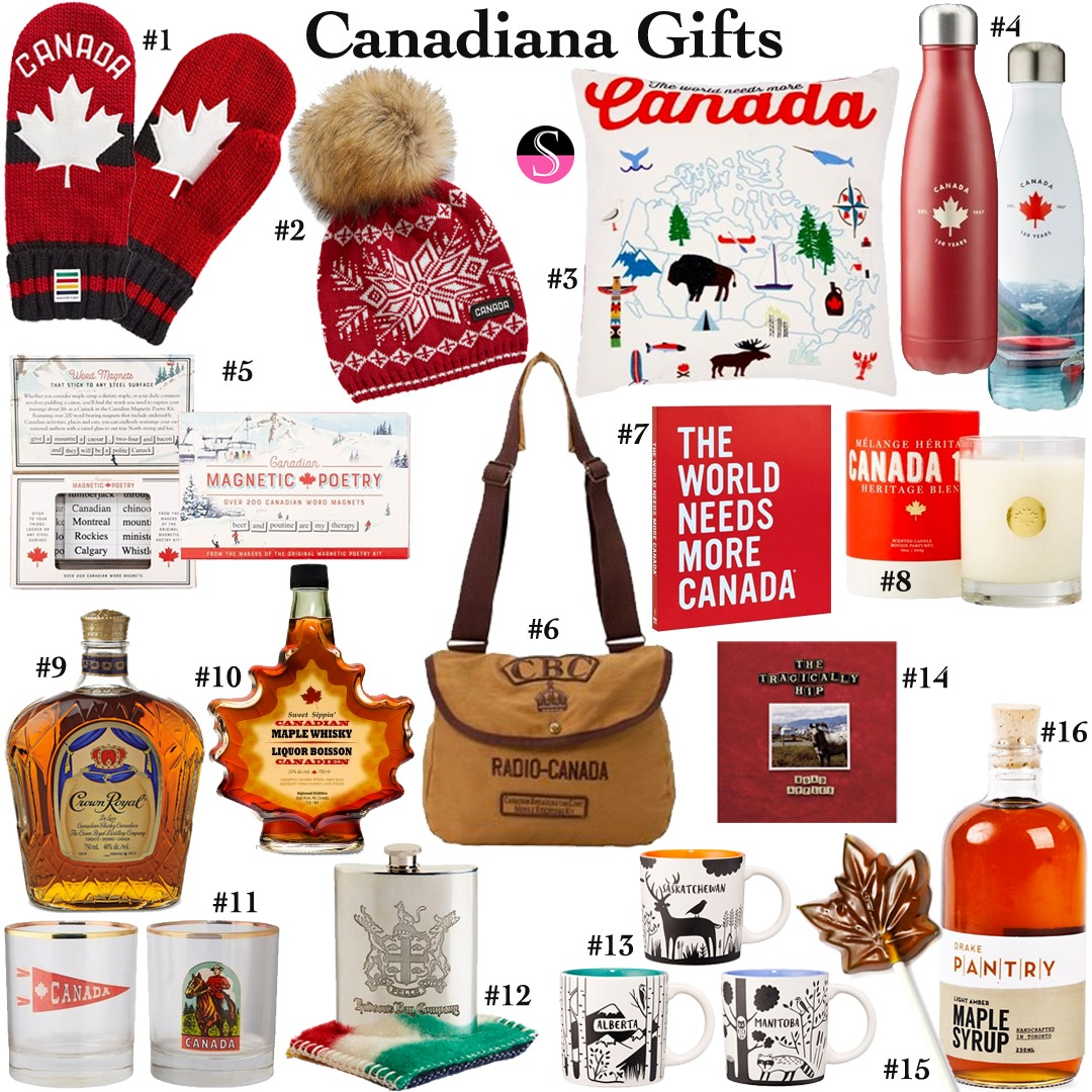 Canadiana Gift Guide | Canadian Gifts | Made in Canada | Canada | Canada 150 |