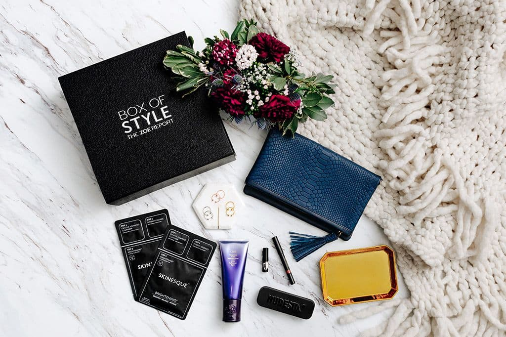 The Zoe Report Box of Style   Subscription Box   Fashion Subscription   Beauty   Luxe Subscription Box