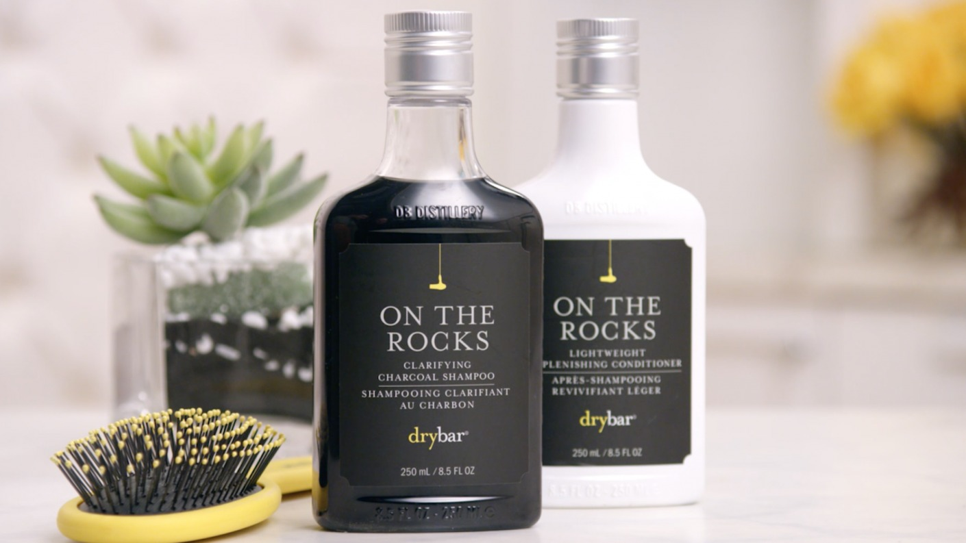 Drybar On The Rocks Charcoal Shampoo | Activated Charcoal Shampoo | Charcoal Conditioner | Drybar Shampoo and Conditioner | Deep Cleansing Shampoo