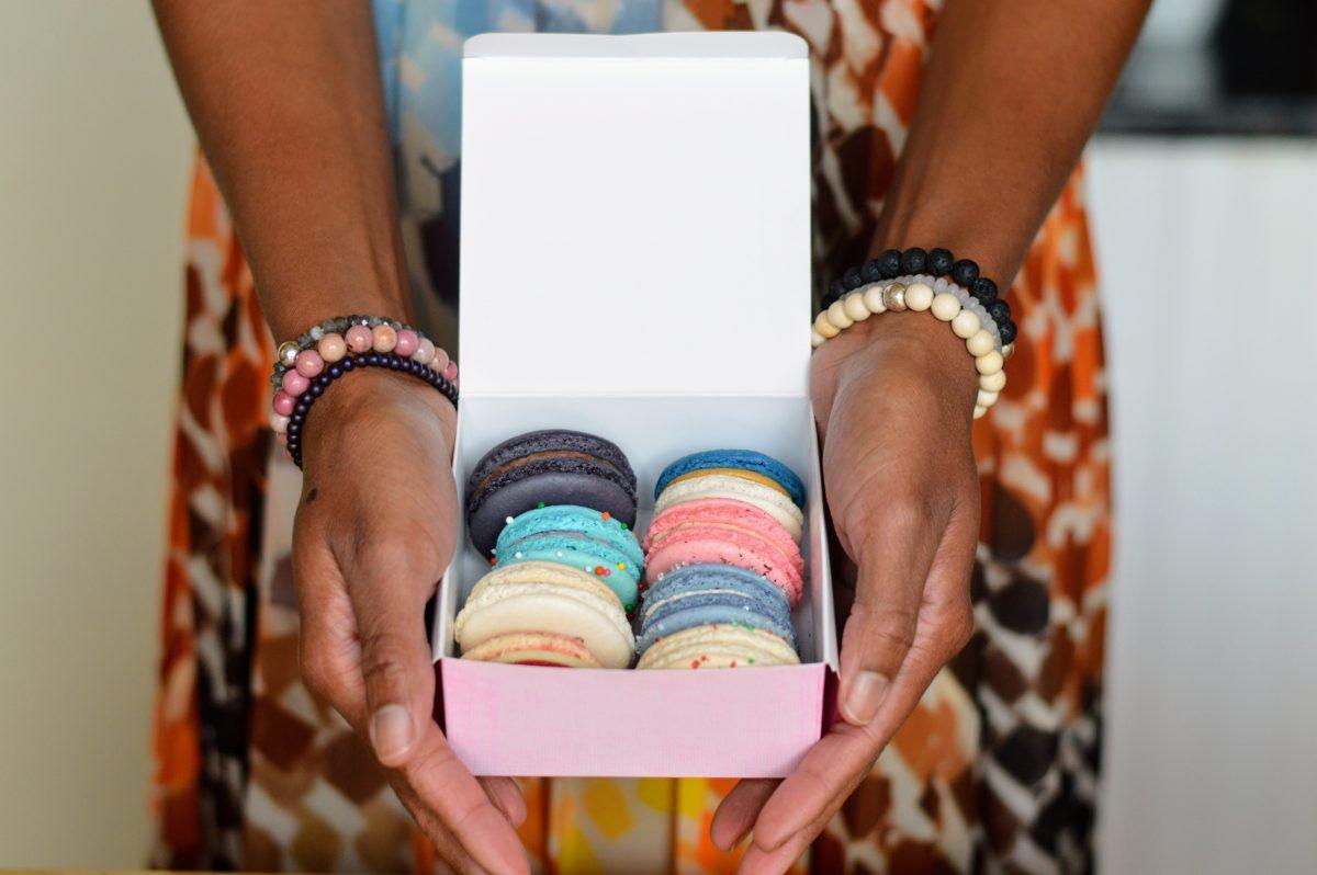 Alora Boutique   Beaded Bracelets + Macarons