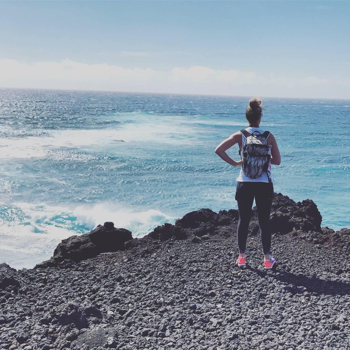 hiking for beginners, oceanside hike