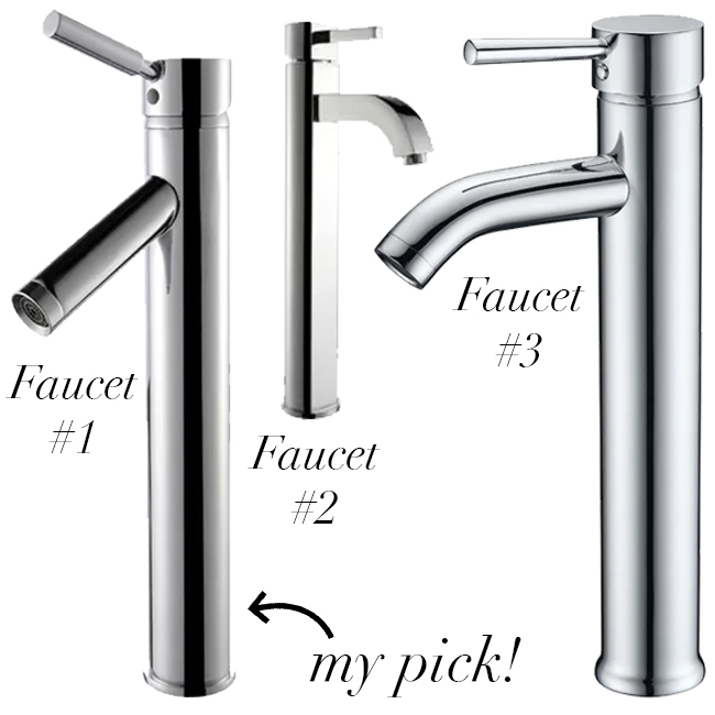 faucets for vessel sinks | classic faucet style for vessel sink