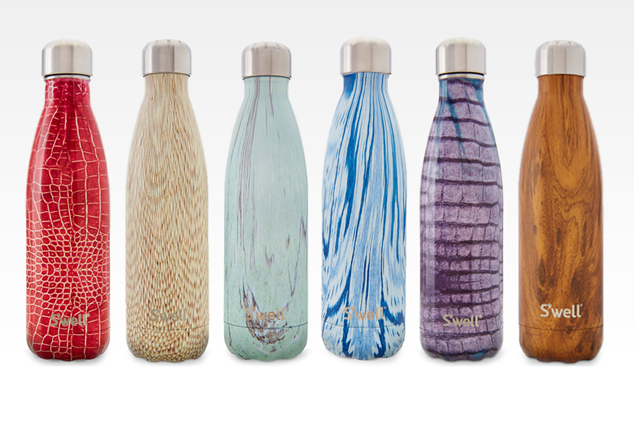 swell bottles - what to pack for a hike