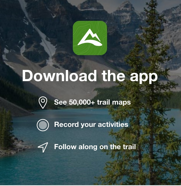 AllTrails Mobile App | Hiking Alberta Apps To Get