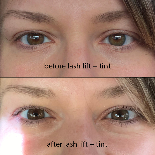 Why You Should Consider a Lash Lift + Tint - Styled to Sparkle