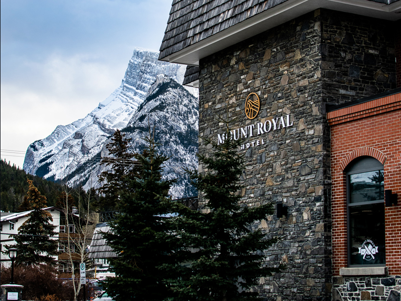 Mount Royal Hotel Banff, Centrally Located Banff Hotel, Where to Stay in Banff, Banff central hotels