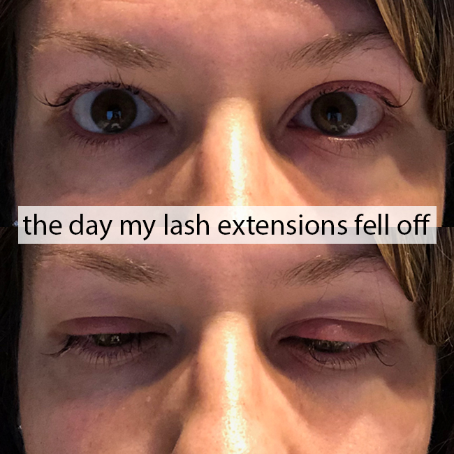 638f3b5e9d9 what to do when your eyelash extensions fall off, why did my eyelash  extensions fall