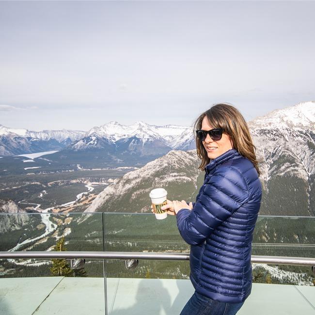 Banff Gondola Alpenglow Festival, views from the Banff Gondola, Banff National Park