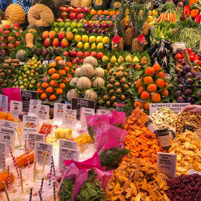 La Boqueria Market Barcelona, Mercat St Josep La Boqueria, things to do in Barcelona, where to eat in barcelona, where to experience catalan food, barcelona catalunya spain, best places to visit in barcelona, best places to eat in Barcelona, barcelona foodie destination