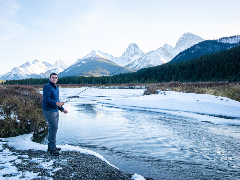 mount engadine lodge, where to stay in Kananaskis, hiking in kananaskis, things to do in kananasis, all inclusive hotel canada, where to stay in the mountains, mountain getaway, mountain retreat, where to stay in the canadian rockies, free white north, fly flishing in kananaskis