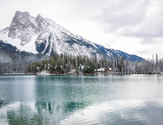 mountain getaway, canadian girl, canadian editorial, being canadian, what does it mean to be canadian, emerald lake, emerald lake lodge, canadian rockies, emerald lake winter, emerald lake in the winter, yoho national park