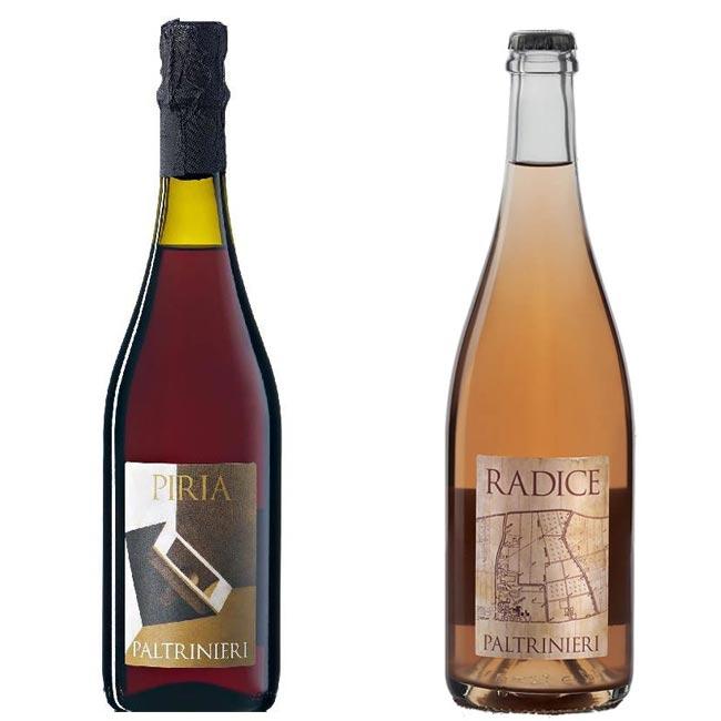 Lambrusco di Sorbara: Paltrinieri Piria, Paltrinieri Radice, tasting notes piria, red bubbles, rose bubbles, lambrusco sparkling wine, italian sparkling wines