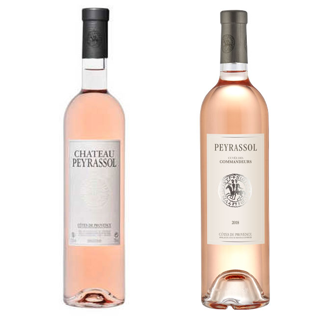 hâteau Peyrassol, Peyrassol: Cuvée des Commandeurs, knights templar rose, knights templar wine, cote de provence wines to drink, french rose, roses to try, pink wine