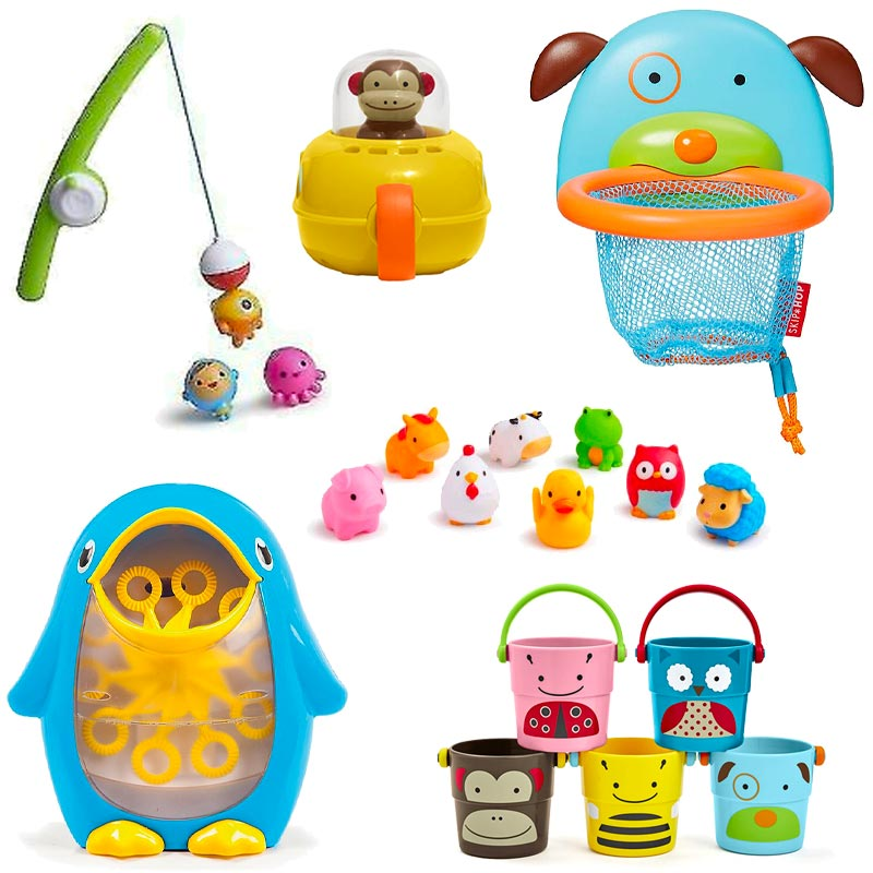 munchkin tub toys, skip hop tub toys, best bath toys for baby, baby gift ideas, pool toys for baby