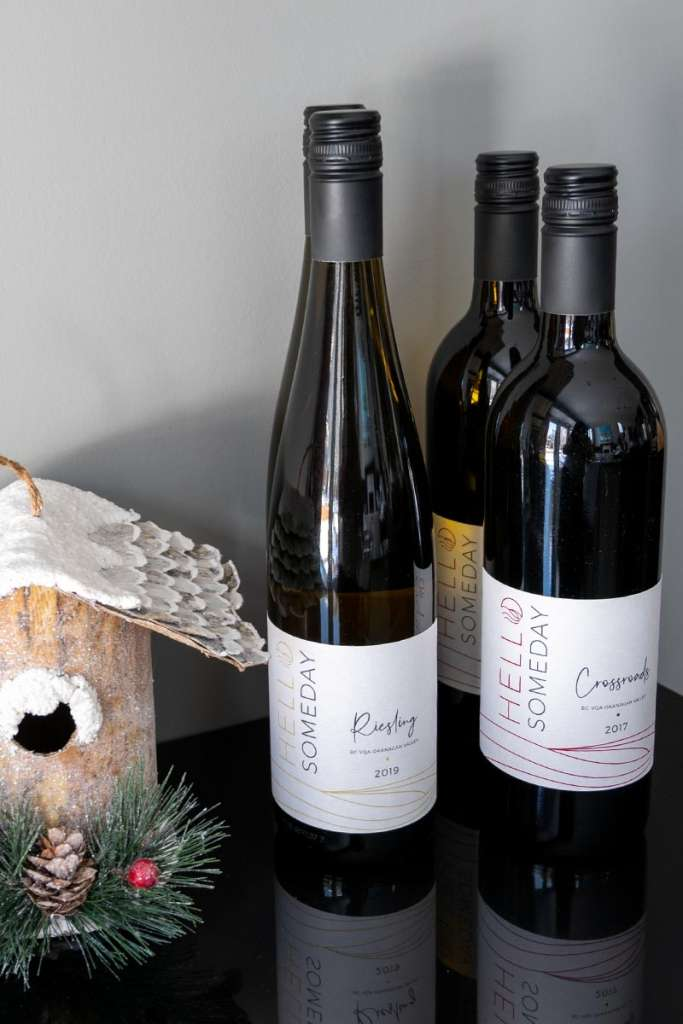 shop local yyc, holiday gifts from Calgary, shop local Calgary, shop local holiday gift ideas, local Calgary gift ideas, hello someday wines, Calgary owned winery, Calgary wine gifts