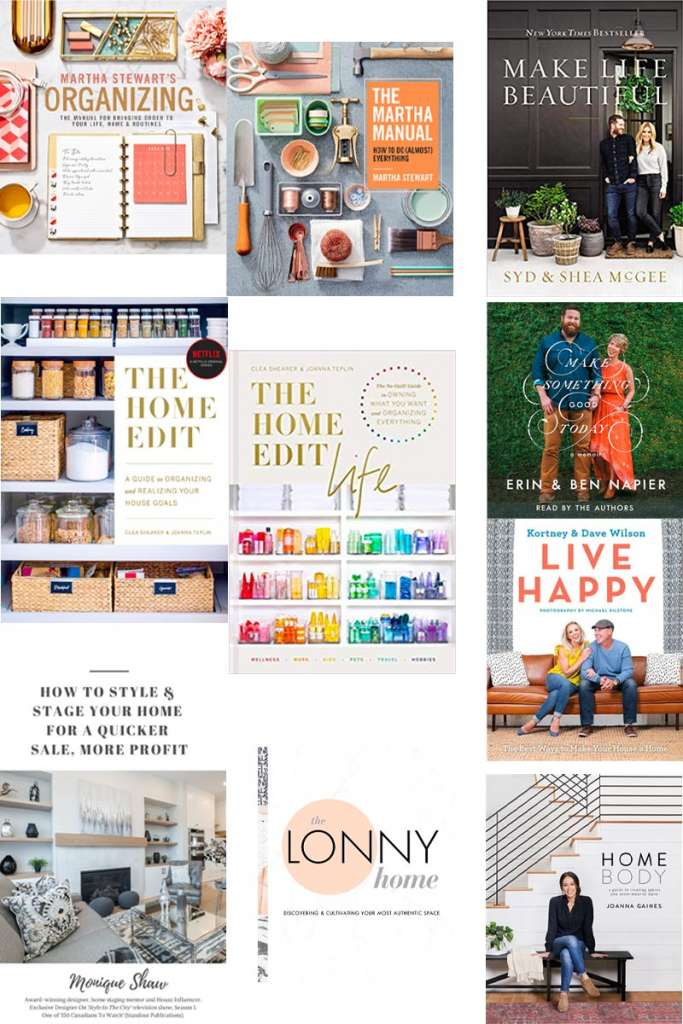 gifts for interior design lovers, home decor gifts, home decor books, designer books, the home edit books, lonny home book, magnolia home book, Martha Stewart books, hdtv books, design gifts, gifts for the home, home decor gift guide, interior design gift guide, home sense gifts