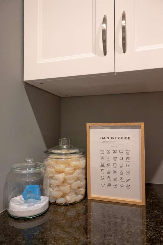 laundry room, poster store, poster store art work, poster store promo code, laundry guide, laundry poster, laundry symbols guide