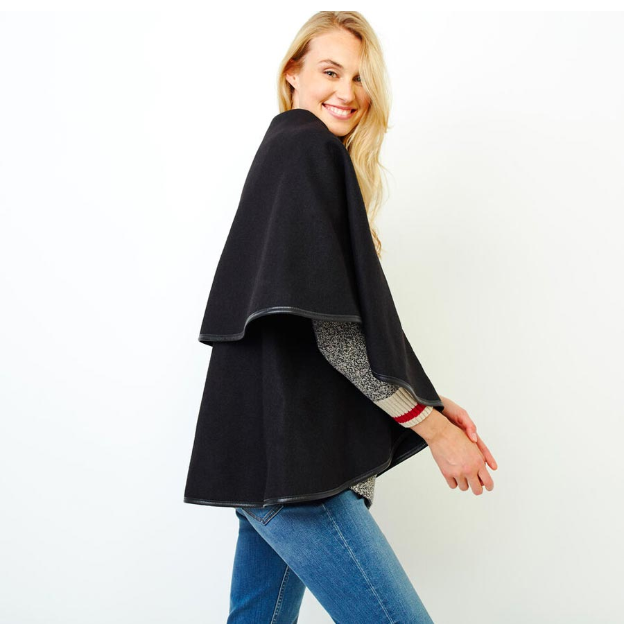 how to wear a cape, cute capes for fall, fall jackets, fall coats